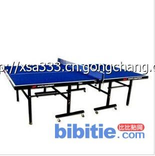 康达盛世单折移动乒乓球台图片