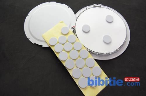 平顶灯专用海棉垫 吸顶灯泡沫垫 泡棉垫图片