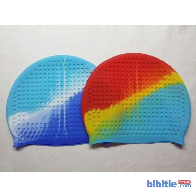 (SC200)拓健 纯硅胶防水防滑泡泡帽 游泳帽 生产厂家图片