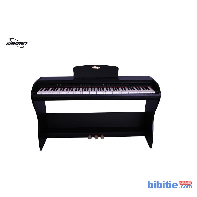 威斯曼wsmanOS-160现代智能数码钢琴电钢琴88键重锤图片
