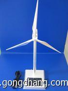 上海厂家定制金属风机模型三功能风车模型:太阳能电池板,电池,USB接口图片