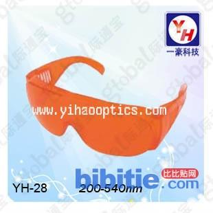 YH-28 200-540NM 激光镜激光防护眼镜图片
