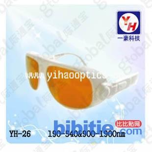 YH-26 宽光谱连续吸收式激光防护镜图片