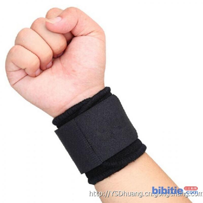 健身运动护腕堡护具绑带调节加压型羽毛球护手腕图片