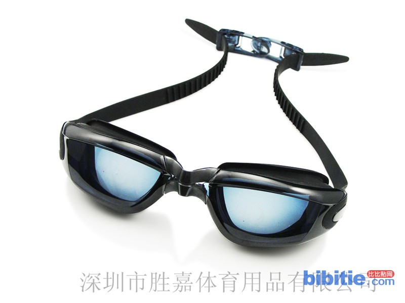 SINAC胜嘉专业游泳眼镜 硅胶泳镜 防水防雾泳镜 平光泳镜 男女泳镜图片