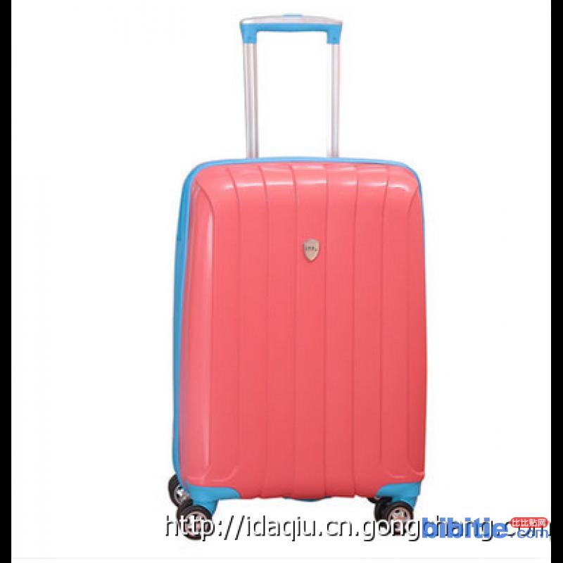 ITP品牌拉杆箱万向轮旅行箱超耐磨炫玫红色登机箱学生超轻韩版硬箱图片