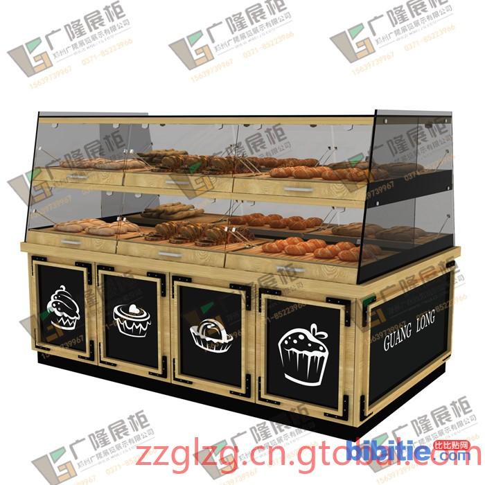 郑州哪里能买到专业的面包边柜 中岛柜图片