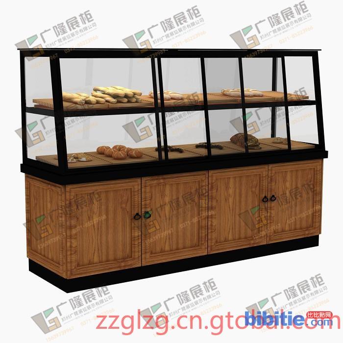 实用烘焙展柜 如何选购好的面包边柜图片