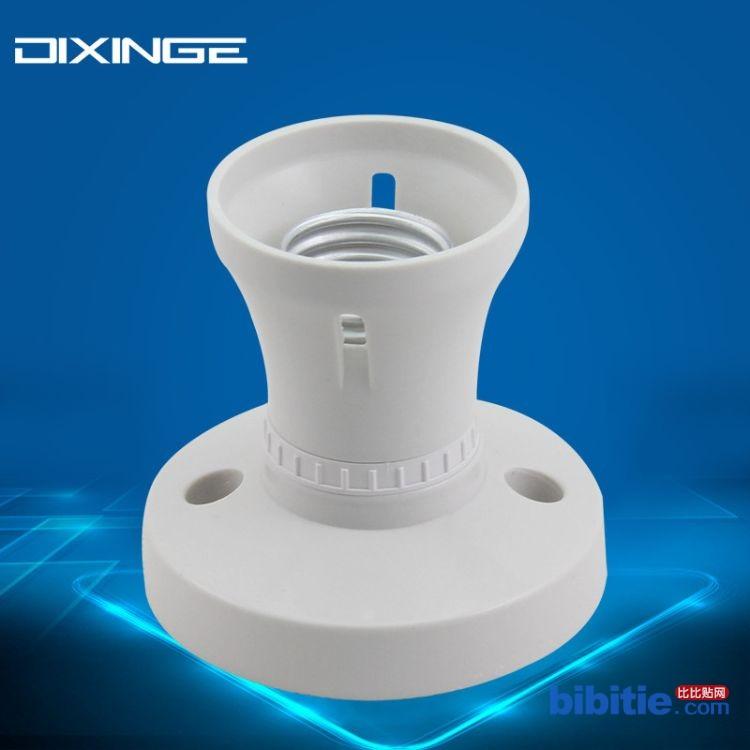 适用大功率LED节能灯 胶木外壳E27螺口灯座 耐温全铜配件直口灯头图片
