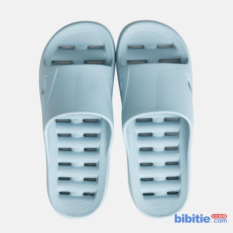 速干不积水不打滑拖鞋防滑男女漏水家用软底心形浴室防臭凉拖鞋夏图片