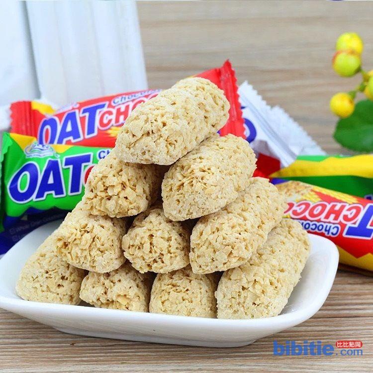 400克/袋 24袋/件 OAT营养燕麦酥 进口食品 谷物燕麦巧克力酥糖图片