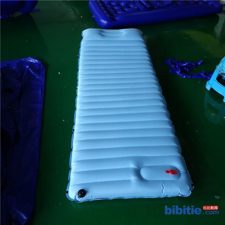 工厂订做pvc春亚纺充气户外垫单双人帐篷露营垫自动充气按压床垫图片
