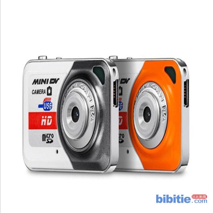 厂家直供X6儿童礼品数码摄像机 移动侦测边充边录MINI DV 小相机图片