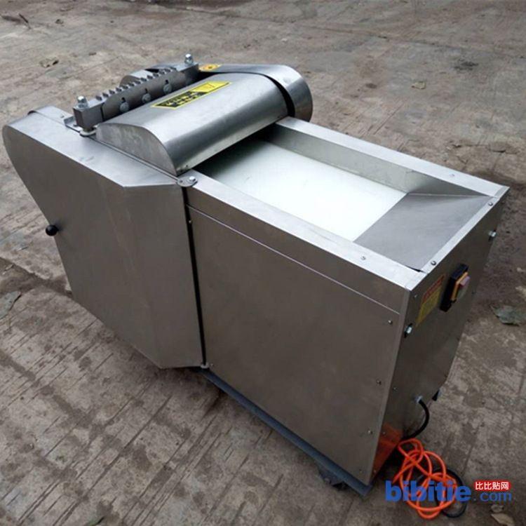 厂家生产多功能鸡块剁骨机 全自动剁鸭块机 不锈钢剁白条鸡块机图片
