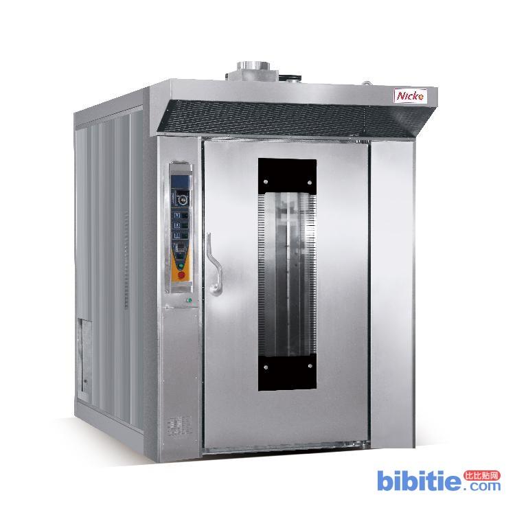 尼科专业设备 大型商用电旋转炉 32盘热风旋转炉 烘烤面包月饼烤炉烤箱图片