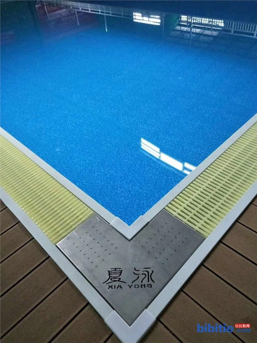 广东省河源市钢结构拼装式泳池,拆装式泳池、整体游泳池、健身房泳池图片