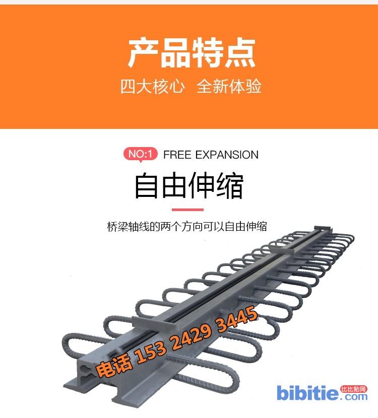 d-80型伸缩缝 d160型伸缩缝 60型伸缩缝厂家泰恒生产图片