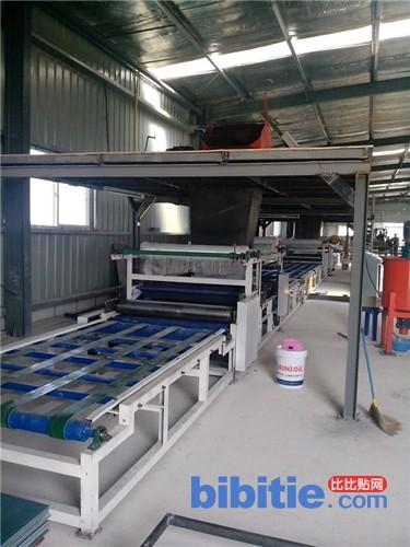 轻质保温复合墙体板生产线 轻质墙板生产线图片