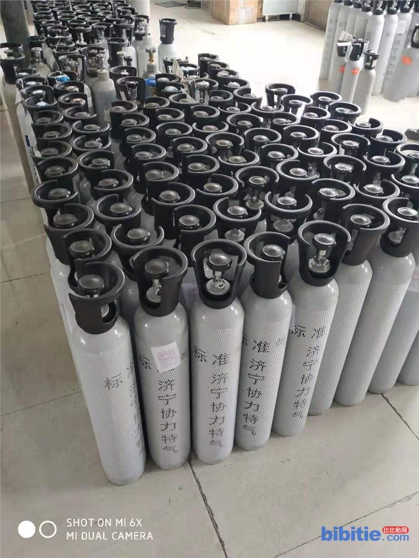厂家专业配制黑龙江省报警检漏仪校验用标准气体图片