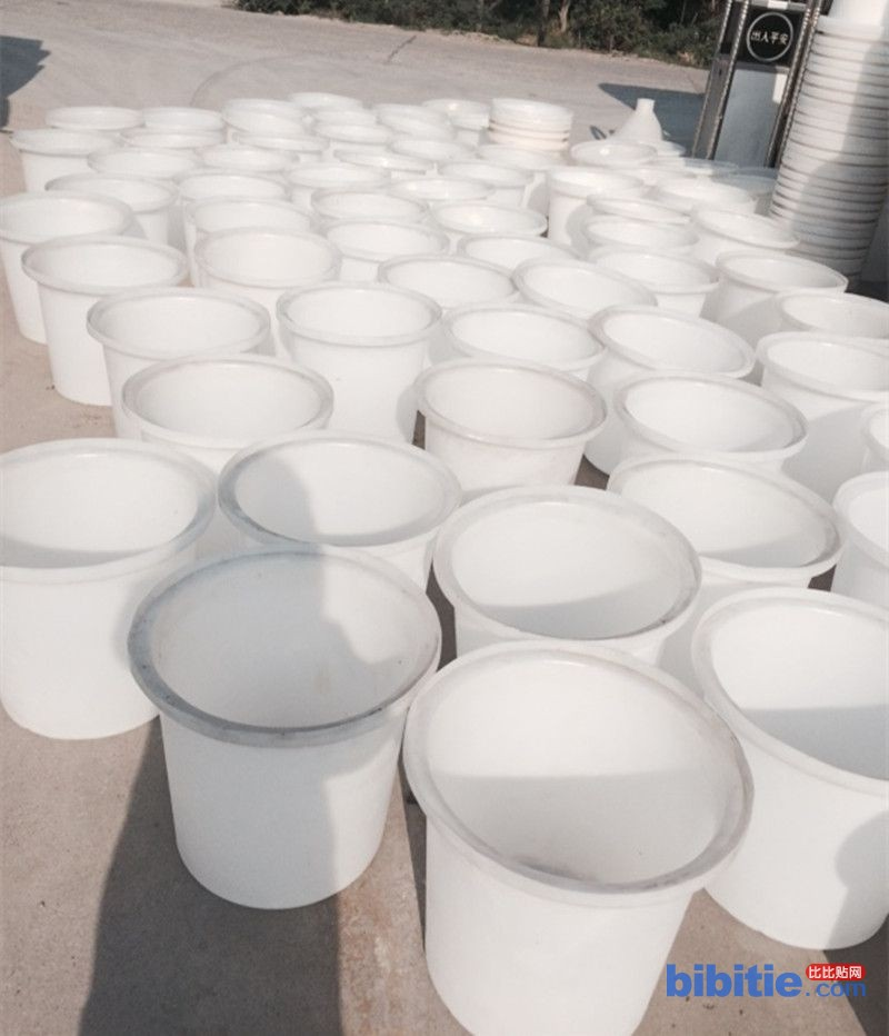 重庆铜梁区优质M-500L白色塑料圆桶养殖水桶力佑销售图片