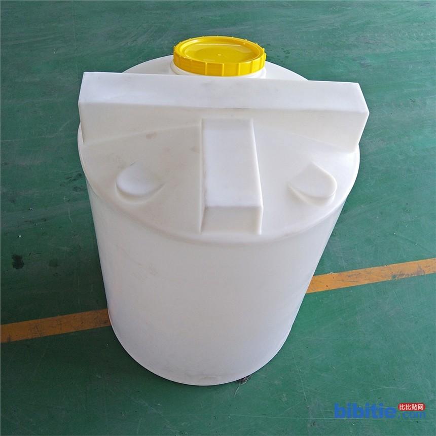 1吨加药箱 水处理用1立方塑料搅拌桶 pam溶药箱 1000L圆形洗洁精搅拌罐图片
