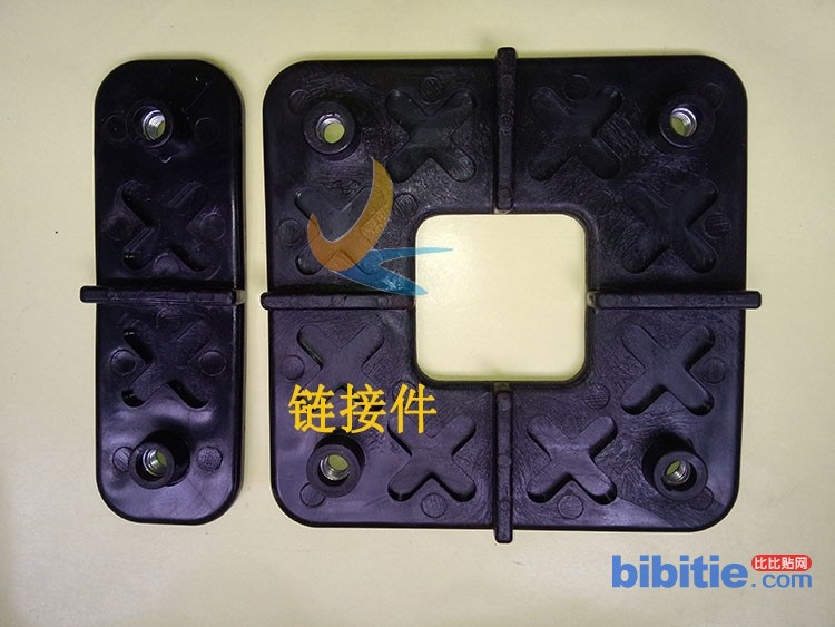 室外临时塑料铺路垫板聚合物高分子铺路板图片