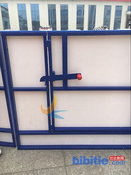 冰球场围栏 冰球比赛防撞板墙生产厂家图片