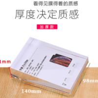 亚克力水晶台卡展示台牌斜面加厚手机台签参数牌水牌桌牌厂家伍亿图片