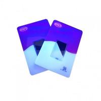 荧光防伪金币卡套定制印刷图片