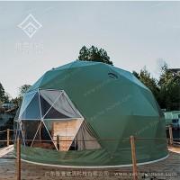 甘肃球形星空帐篷酒店-源头工厂支持定制星空帐篷酒店图片