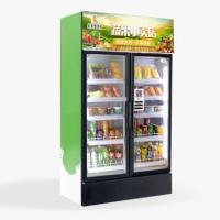 24小时无人智能生鲜果蔬售货机图片
