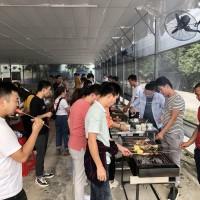 深圳田中园拓展团建基地里的欢声笑语-趣味休闲团建活动图片
