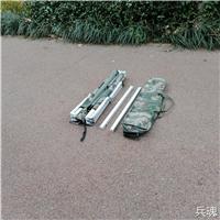 野外拉练迷彩行军床 士兵迷彩行军床 户外便携折叠床图片