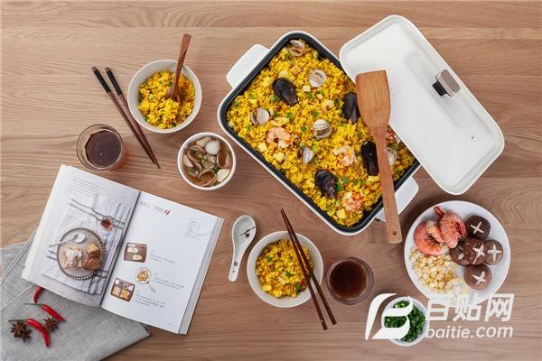 小智炒菜料理锅的品牌 烤食代多功能---锅图片