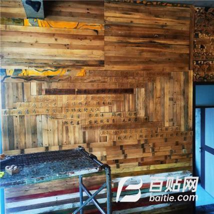 老榆木旧板材 老榆木护墙板 老榆木板材 销售报价图片