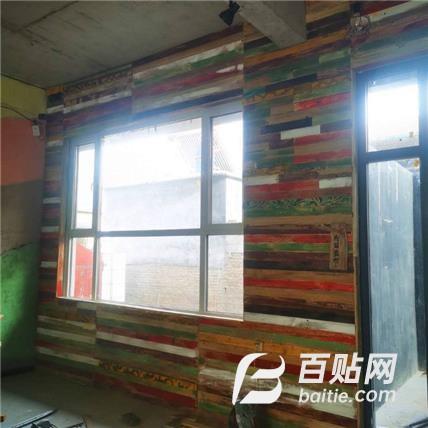 老榆木护墙板 榆木原木板材 老榆木门板 销售厂家图片