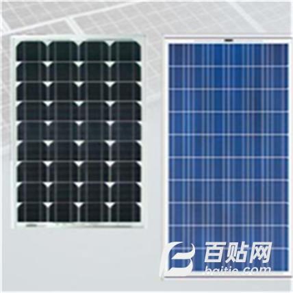 100w太阳能电池板 太阳能电池板 诚聚照明 太阳能组件 光伏电池板图片