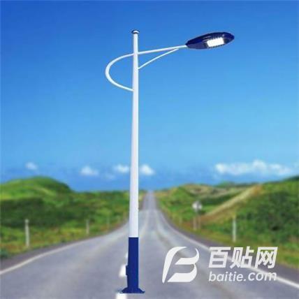 市电道路灯 高低臂市电路灯 led市电路灯 照明路灯 市电改造路灯图片
