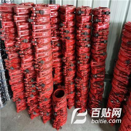 管卡 DN100型号管卡 高低压加厚管卡 昇皓供应 型号多 可定制图片