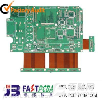 西丽靖邦科技通讯类软硬结合PCB线路板加工厂图片