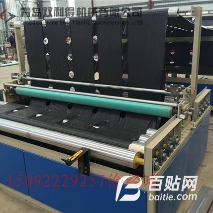 塑料地膜打孔机器   薄膜打孔机生产线图片