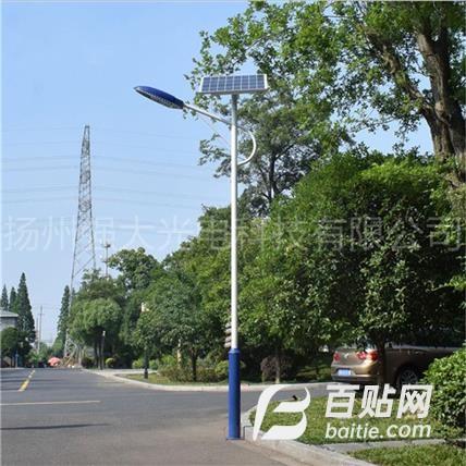 农村一体化太阳能路灯生产厂家 定制道路照明LED路灯图片