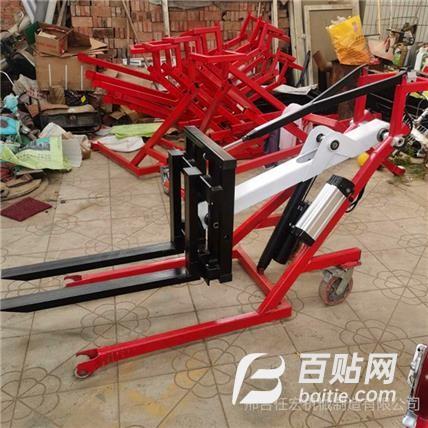 电动液压堆高车 卸搬运车微型电动葫芦 500公斤电动小叉车图片