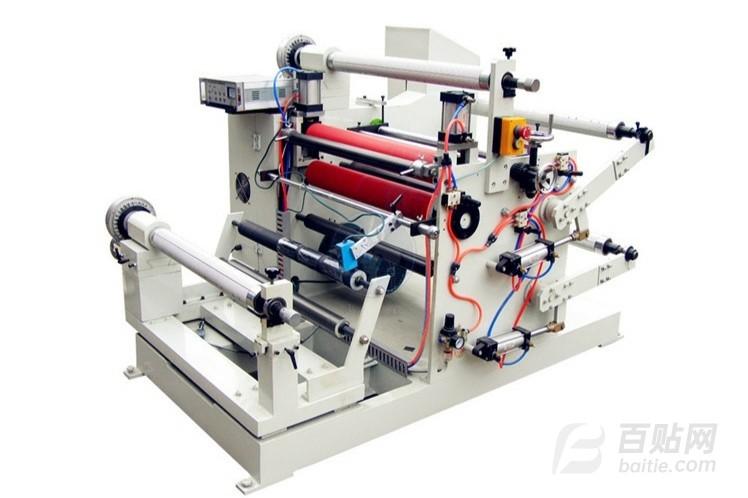 功能性材料分切机 薄膜材料分条机 绝缘纸分切机 修边机图片