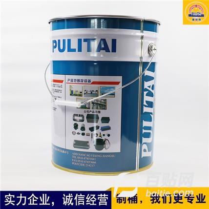 金属包装桶 马口铁涂料桶化工桶 大容量印铁包装桶 普利泰包装 印铁制桶厂家图片
