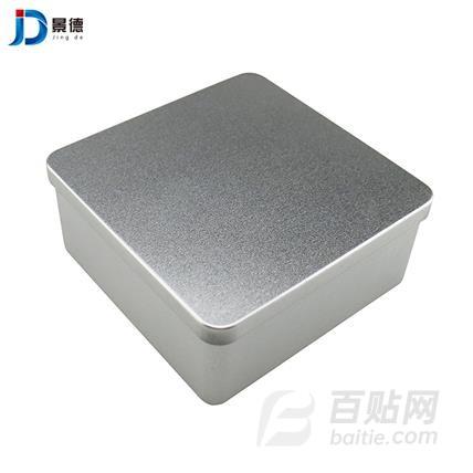 铁盒厂家定制马口铁食品糖果铁盒 方形保健铁盒 饼干盒 景德金属包装图片