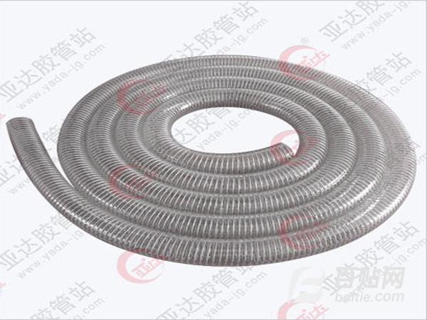pvc纤维增强塑料软管 沧州塑料软管 亚达工贸1986年图片