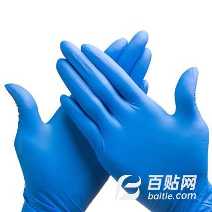 丁腈手套,防护手套,荣信手套,厂家直销图片