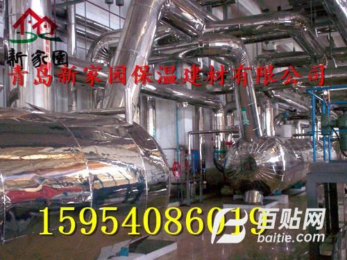 供应青岛不锈钢管道保温 专业不锈钢保温图片