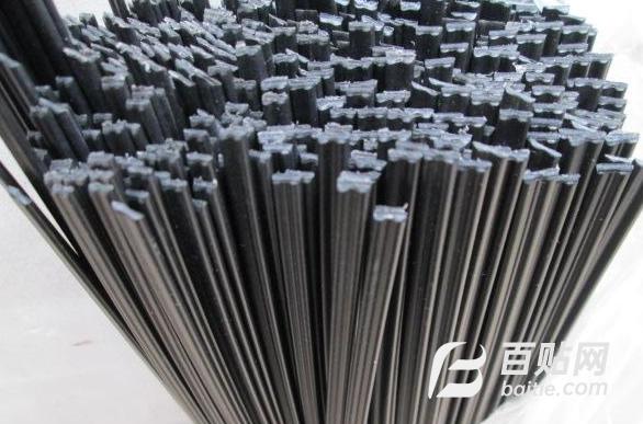 pvc焊条白色黑色米黄色 pvc板材施工焊接 塑料焊接单股双股三股图片
